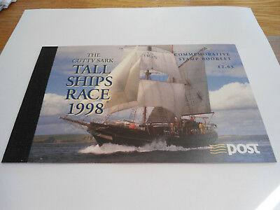 1998 Tall Ships Race Commemoartive Booklet unmounted mint