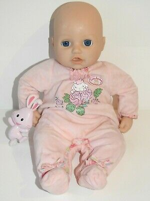 Zapf Creation My First Baby Annabell doll with Original Outfit & Toy Rattle