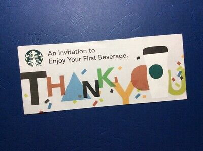 WOW! Starbucks Japan Drink Voucher. No Expiration!
