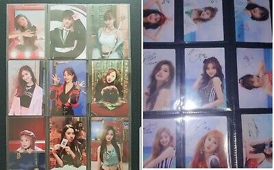 (+full set) TWICE dance the night away/ yes or yes broadcast photocard