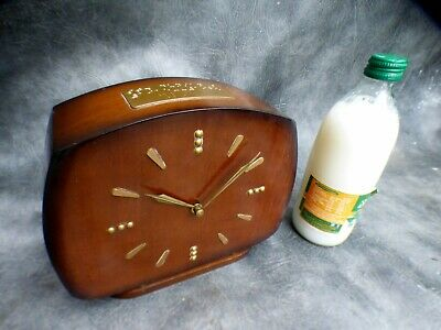 A Good Clean Smiths Gong Strike Braile Clock For St Dunstans 1965 * Serviced *