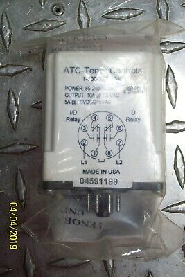 New Atc Tenor Controls Timing Relay , 657-8-4000