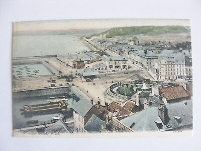 Cp United Kingdom Jersey St Helier Looking We Carte Postale Postcard Royaume-Uni