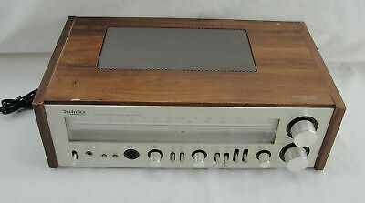 Vintage Technics Sa-400 Am/fm Stereo Receiver Working Missing Bass Knob