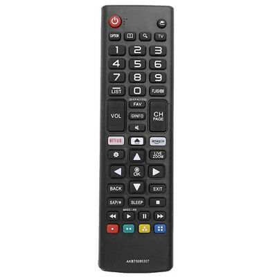 Replacement Remote Control for LG AKB75095307 Smart LED LCD TV PVWTUS MEUS
