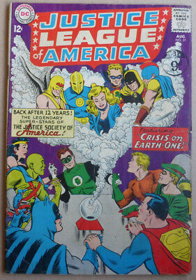 Justice League Of America #21, Classic Silver Age 1963.