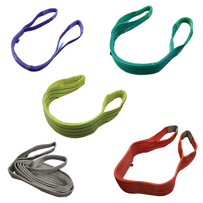 Lifting Slings & Strops 1 tonne to 5 tonne Polyester Webbing ( Certified )