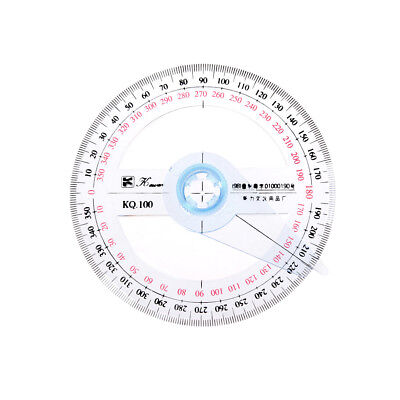 360Degree Protractor Angle Finder Sewing Student Office Engineer Tools Gift OS