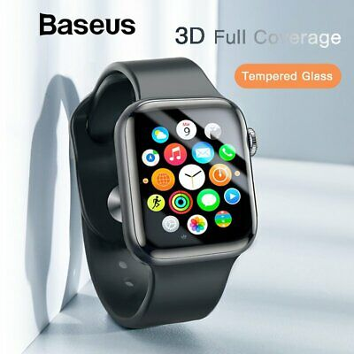 Baseus 0.23/0.3mm 3D Tempered Glass Screen Protector for Apple Watch 1 2 3 4