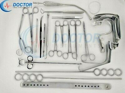 Tonsillectomy Set of 27 pieces Finest ENT Surgical Instruments & Sets