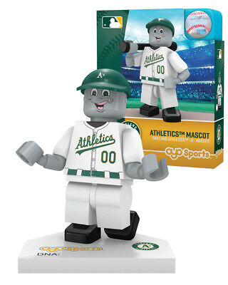 Stomper Mascot Oakland Athletics Oyo Minifigure Brand New Free Shipping