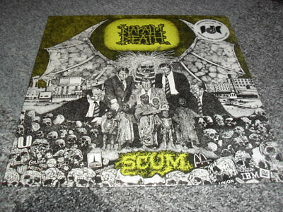 Napalm Death -Scum- Awesome Rare Ltd Edition Black Vinyl Lp Brand New Sealed