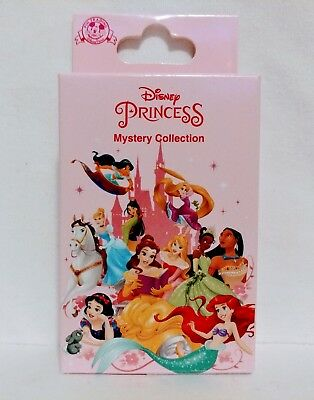 NEW Disney Parks Unopened 2 Pin Princess Letters Mystery Box Collection SEALED