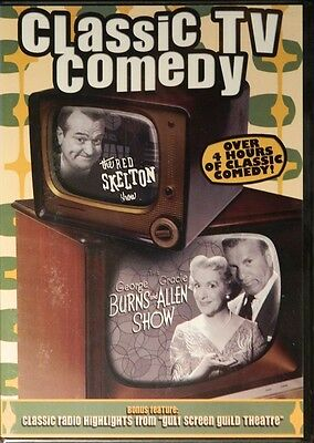 CLASSIC TV COMEDY The RED SKETON SHOW The BURNS and ALLEN SHOW 4+++ Hours SEALED