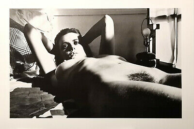 HELMUT NEWTON - Fiona Lewis - Photo Litho, 1979 con COA