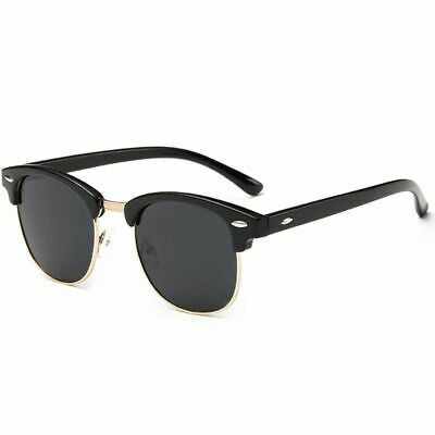 Joopin Semi Rimless Polarized Sunglasses Women Men Brand Vintage Glasses Plaroid