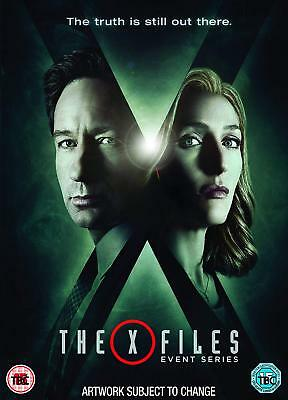 The X-Files The Event Series DVD Set Season 10 (2016) New 3-Disc Version