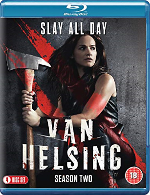 Van Helsing: Season Two BLU-RAY NEW
