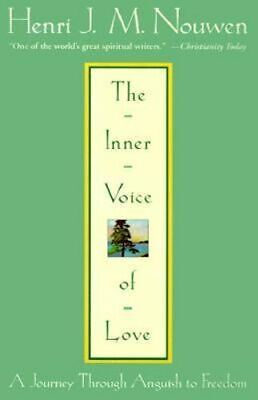 NEW The Inner Voice Of Love By Henri Nouwen Paperback Free Shipping
