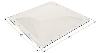 """ICON 01856 RV Skylight Clear Outer Dome 22"""" X 22"""" X 4"""""""