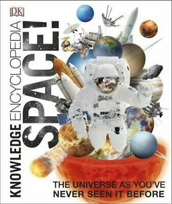 NEW Knowledge Encyclopedia Space! By Dorling Kindersley Hardcover Free Shipping