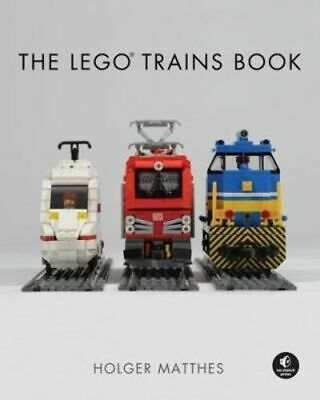 NEW The Lego Trains Book By Holger Matthes Hardcover Free Shipping
