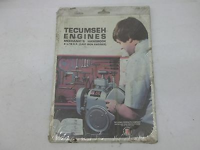Tecumseh 8 to 18 HP Engines Mechanics Handbook