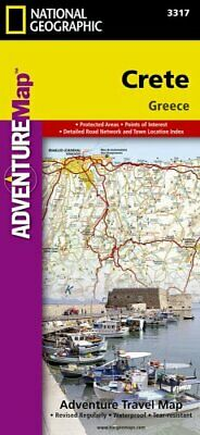 Crete: Travel Maps International Adventure Map by National Geographic Maps...