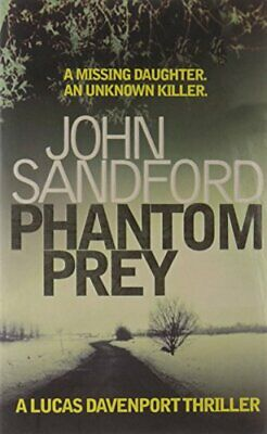Phantom Prey by Sandford, John Paperback Book The Cheap Fast Free Post