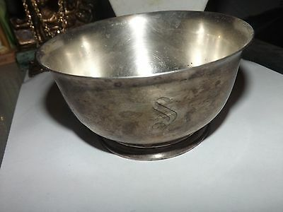 Vintage Sterling Silver  Bowl ~ Excellent Condition ~ Wallace Sterling