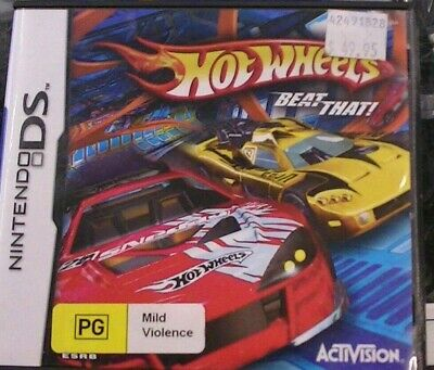Hot Wheels Beat That Nintendo DS 2DS 3DS Game 30 DAYS WARRANTY.