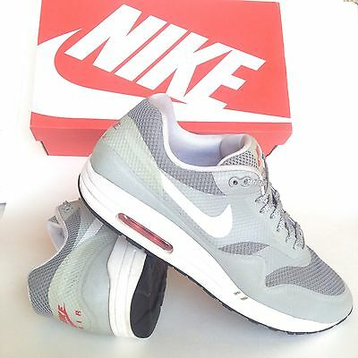 07319ec0c0 Nike Air Max 1 Hyperfuse Mens Shoes Size 10.5 Rare Sneakers 543213 Matte  Silver