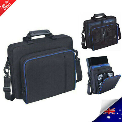 Bag For PS4/Pro/Slim Game Consoles& Acce Oxford Carry Travel Case Shoulder Strap