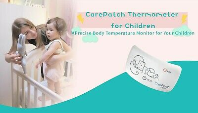 Carepatch Remote Baby Thermometer Monitor Babies Childrens Temperature with App