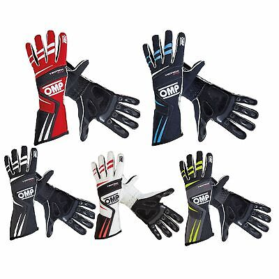 OMP Tecnica Evo Race FIA Approved Racing Rally Fire Resistant Nomex Gloves