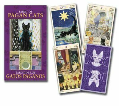 Tarot of Pagan Cats Mini Deck by Lo Scarabeo 9780738735023 | Brand New