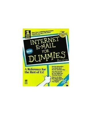 Internet e-mail For Dummies by Levine Paperback Book The Fast Free Shipping
