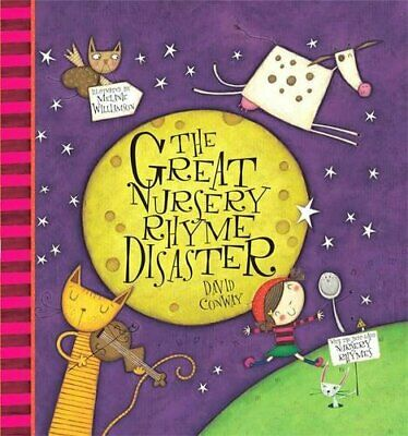 The Great Nursery Rhyme Disaster by Conway, David Hardback Book The Fast Free