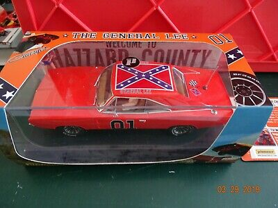Pioneer 1969 Dodge Charger The General Lee 1/32 Ref:p016 Dukes Of Hazard Car Mib