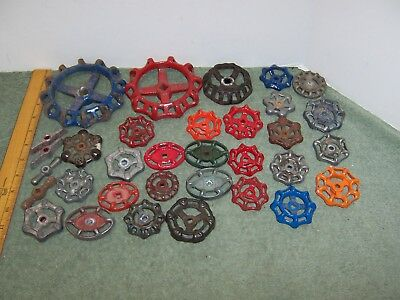33 Vintage Water Faucet Knob Valves Handle Steampunk Industrial Arts & Crafts