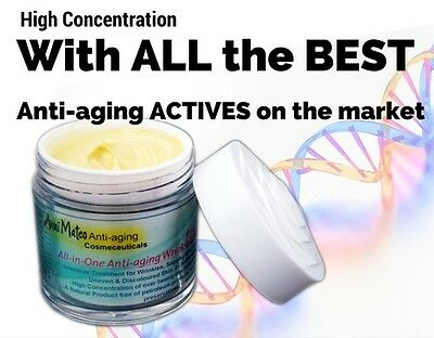 All-in-One Anti-aging wrinkle lifting Cream large pores sagging age spots D3PA