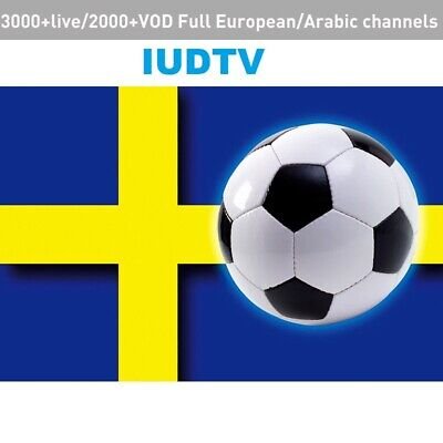 Best Sweden UK Germany Spanish Channels IPTV  Leadcool IUDTV 12 Months Account