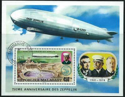 MADAGASCAR (1976) 75th Anniversary of the Zeppelin CTO [9427]