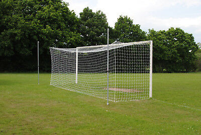 Football Box Net System - Add to Any 24x8 Goal - Made in the UK - MH Goals