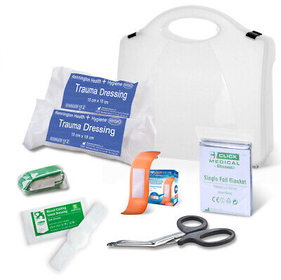 B-Click Medical Low Risk Critical Injury Pack First Aid Work Safety CM0080