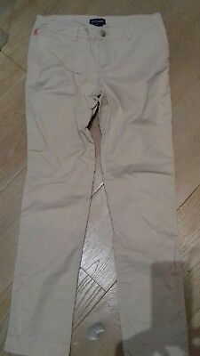 Ralph lauren polo girls chino casual cotton trousers. Age 14  yrs Rrp £89