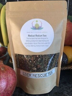 Liver Rescue Tea - Medical Medium Hand Blended Loose Leaf Tea Detox - 100g