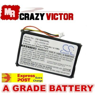 361-00056-00 1100mAh Replacement Battery for Garmin Nuvi 30 50 50LM 55LM 55LMT