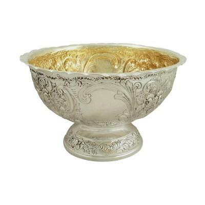 Antique Sterling Silver Presentation Bowl - 1901