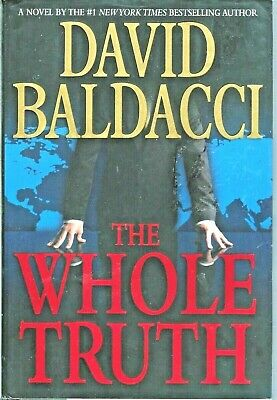 The Whole Truth by David Baldacci (2008 Hardcover Thriller) 20% OFF 3+ ITEMS